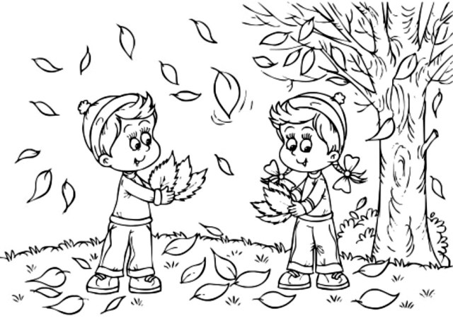 Fall-Coloring-Pages-For-Kids-To-Print - Coloring Kids