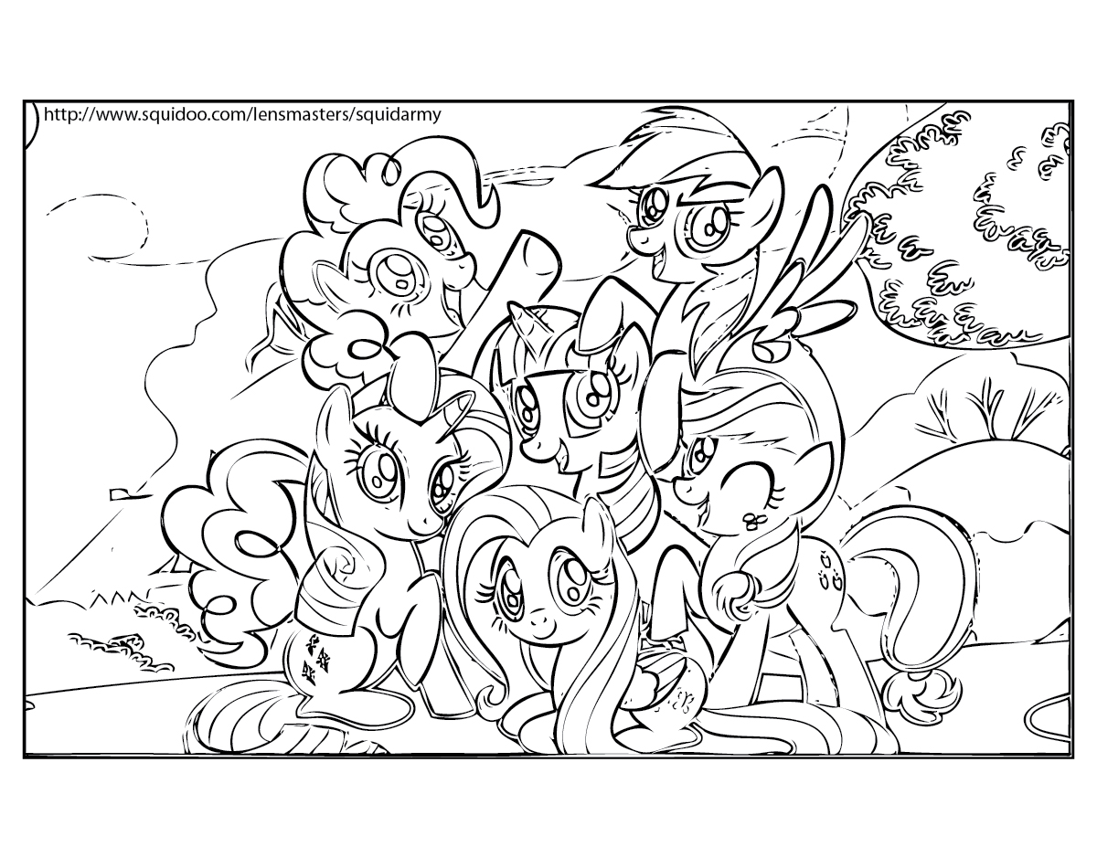 My Little Pony Friendship Games Coloring Page My Little Pony - Coloring-pages-of-my-little-pony-friendship-is-magic