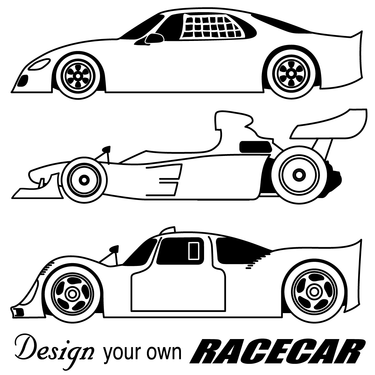 Car Coloring Pages 1
