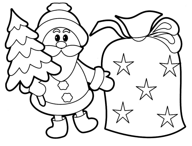 printable christmas coloring pages for toddlers | coloring pages