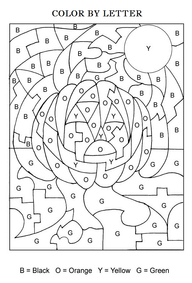 Halloween-Color-By-Letters-Activity-Coloring-Pages-for