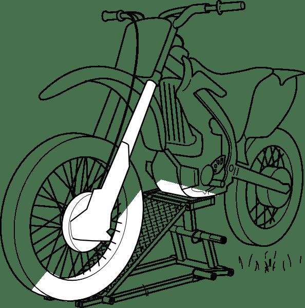 10 Mewarnai Gambar Motor Balap