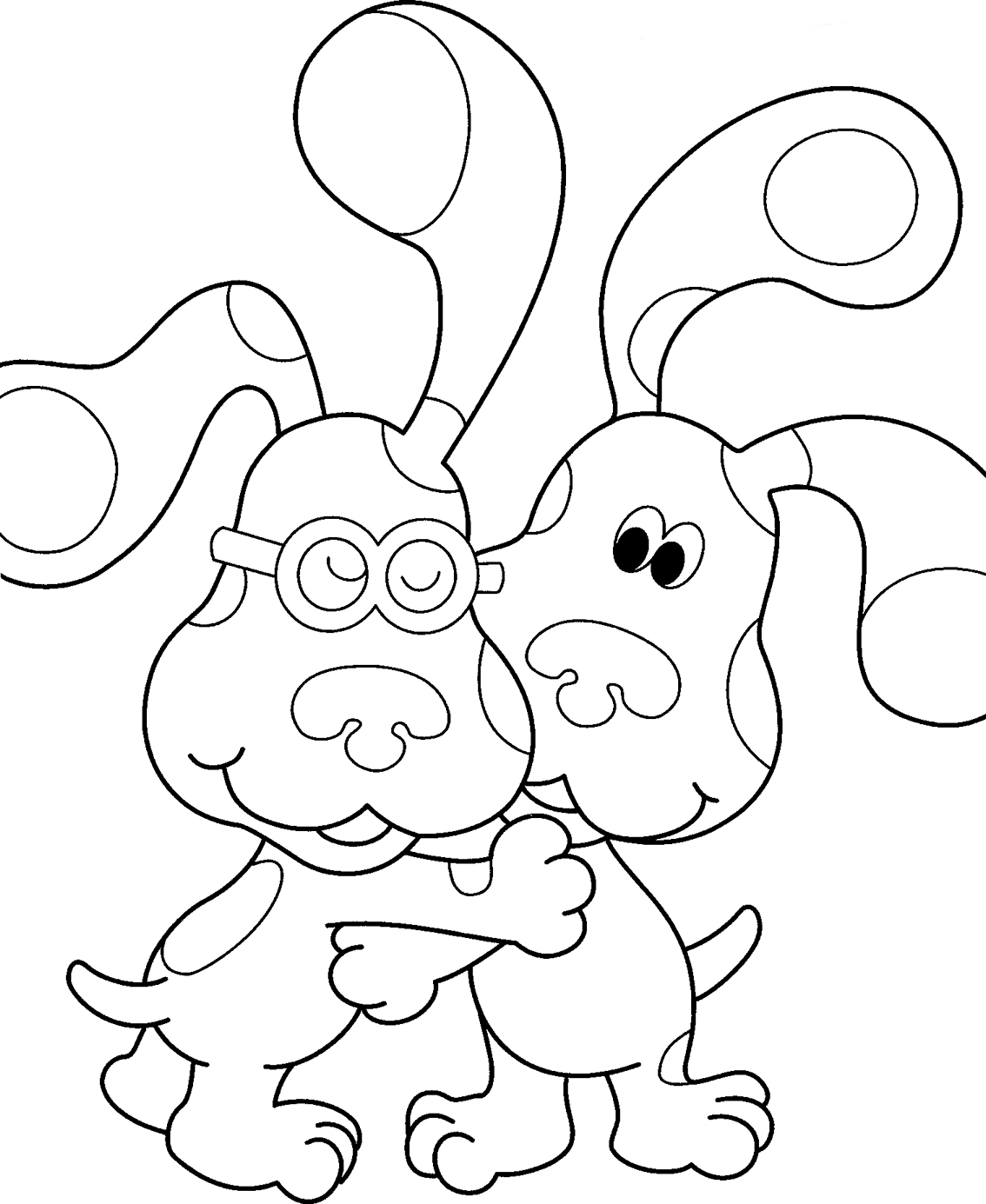 Free nick jr. coloring pages