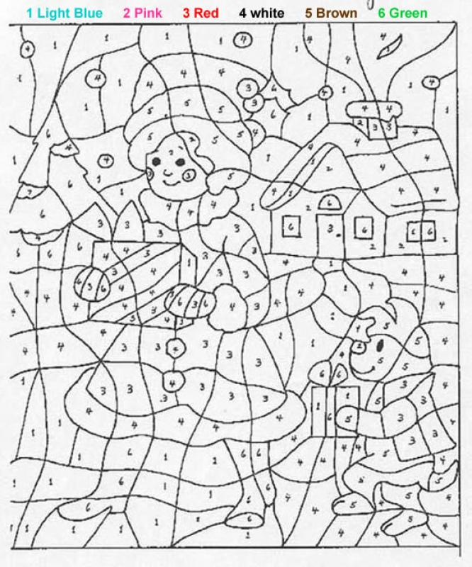 free printable coloring pages by numbers 2015