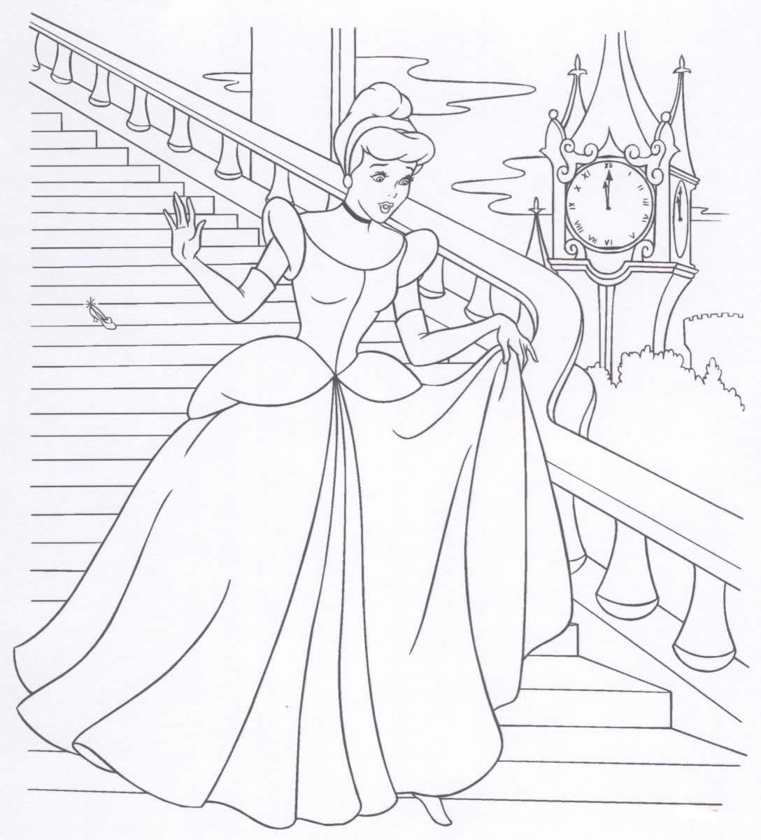 Princess Coloring Pages 23 Coloring Kids