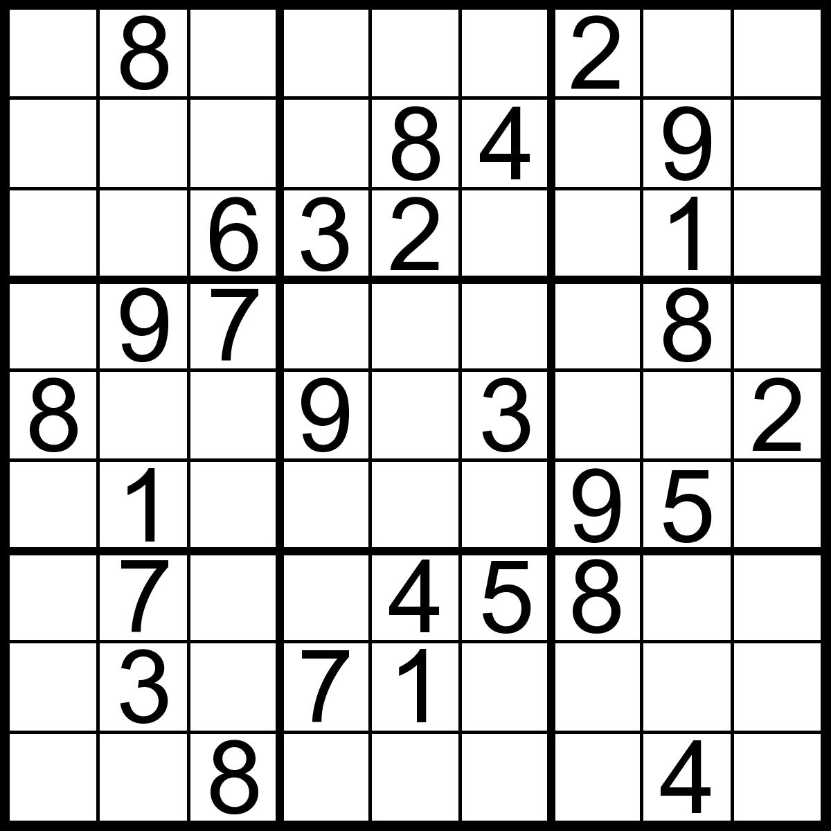 Printable Sudoku Puzzles 2 Coloring Kids