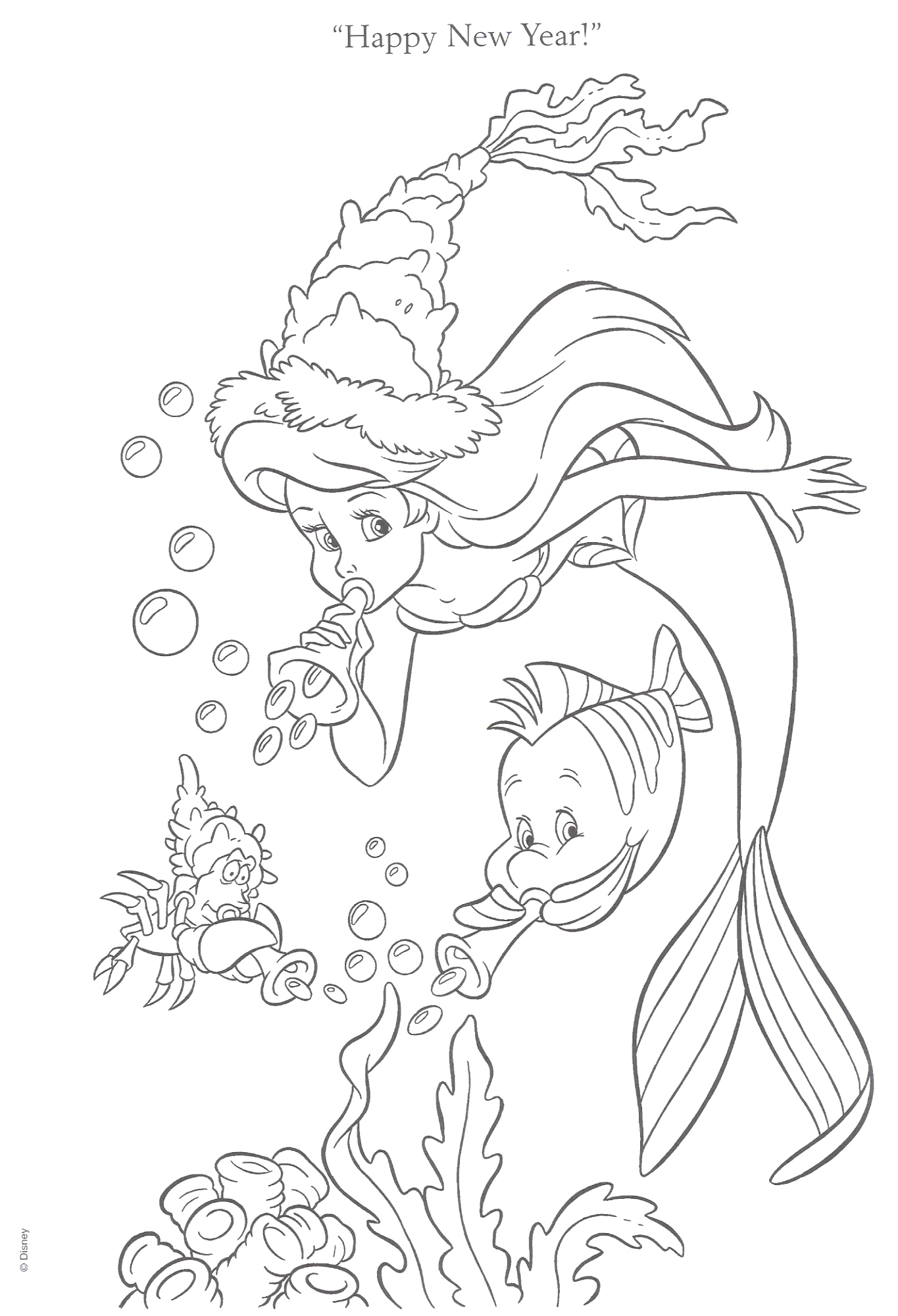 The Little Mermaid Coloring Pages7 Coloring Kids