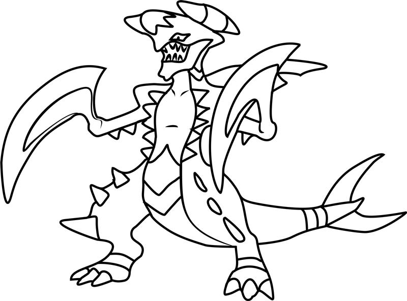 Mega Pokemon Colouring Novocom Top
