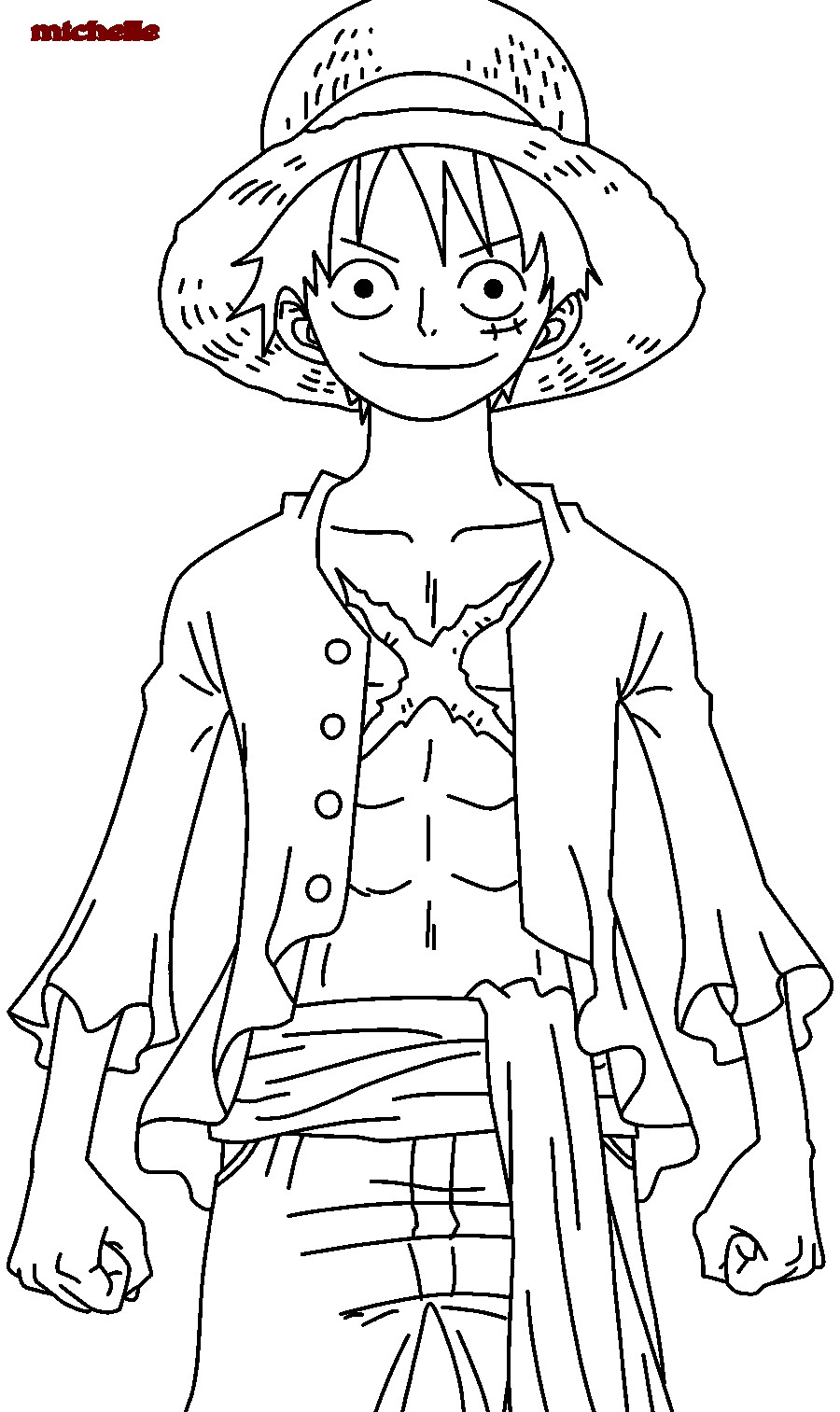One Piece Coloring Pages - Find Coloring Pages