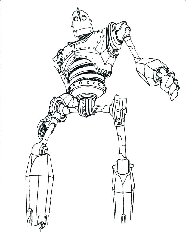 Iron Giant Coloring Page : giant, coloring, Giant, Coloring, Pages, Printable
