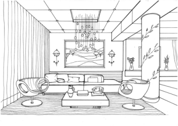 Awesome Living Room Coloring Page Free Printable Coloring Pages for Kids