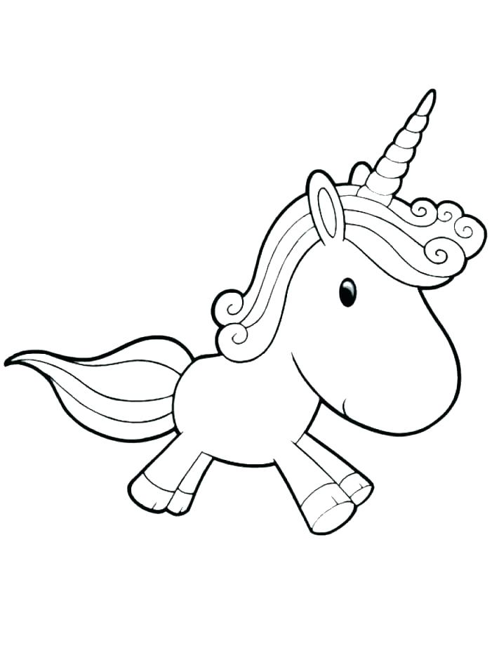 Cute Easy Unicorn Coloring Pages : unicorn, coloring, pages, Unicorn, Coloring, Pages, Printable