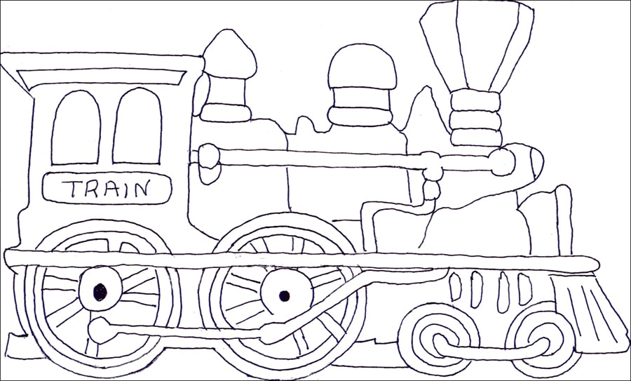 Normal Train Coloring Page Free Printable Coloring Pages For Kids