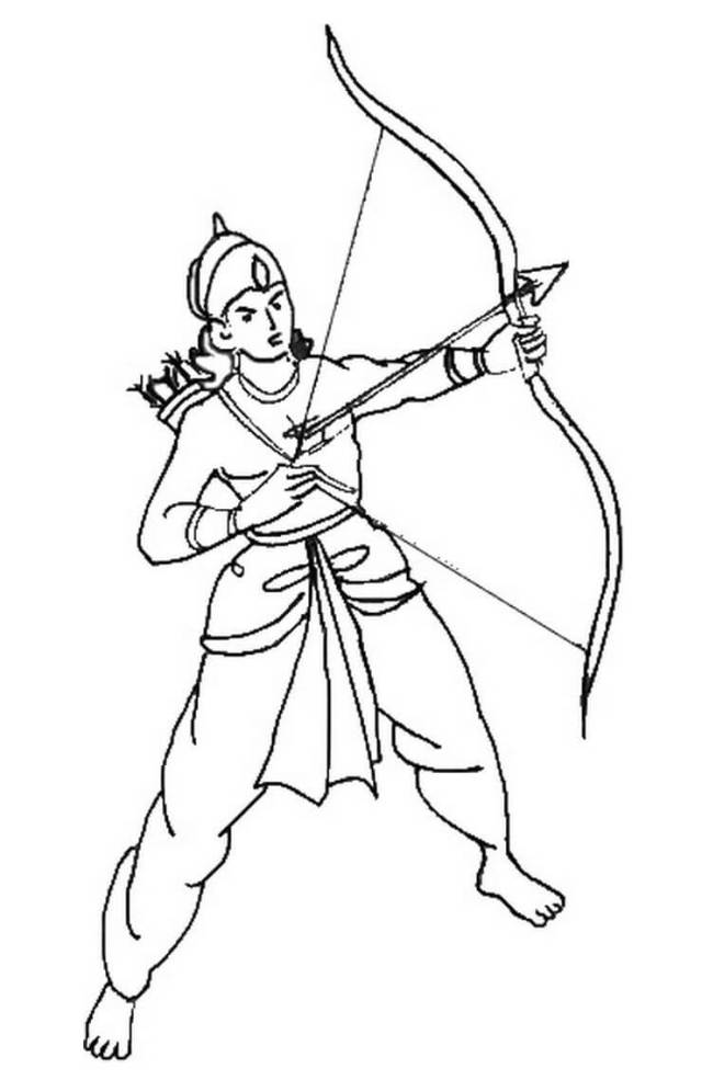 Rama Navami 26 Coloring Page - Free Printable Coloring Pages for Kids