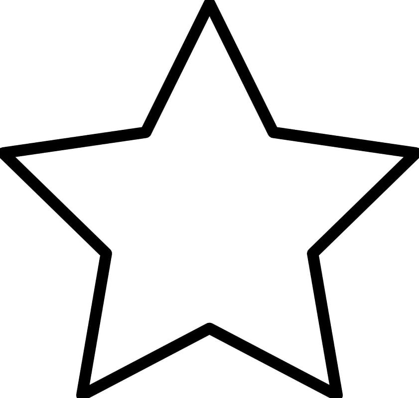 Star Coloring Page Free Printable Coloring Pages For Kids