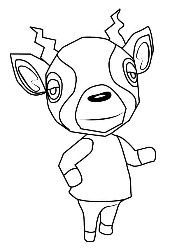 Printable Animal Crossing Coloring Pages : printable, animal, crossing, coloring, pages, Animal, Crossing, Coloring, Printable, Pages