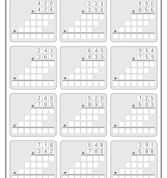 Printable 5th Grade Multiplication Worksheet 01 [ 1344 x 950 Pixel ]