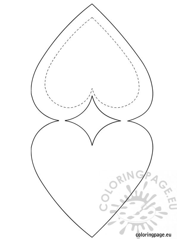 """Search Results for """"Large Printable Heart Shape"""