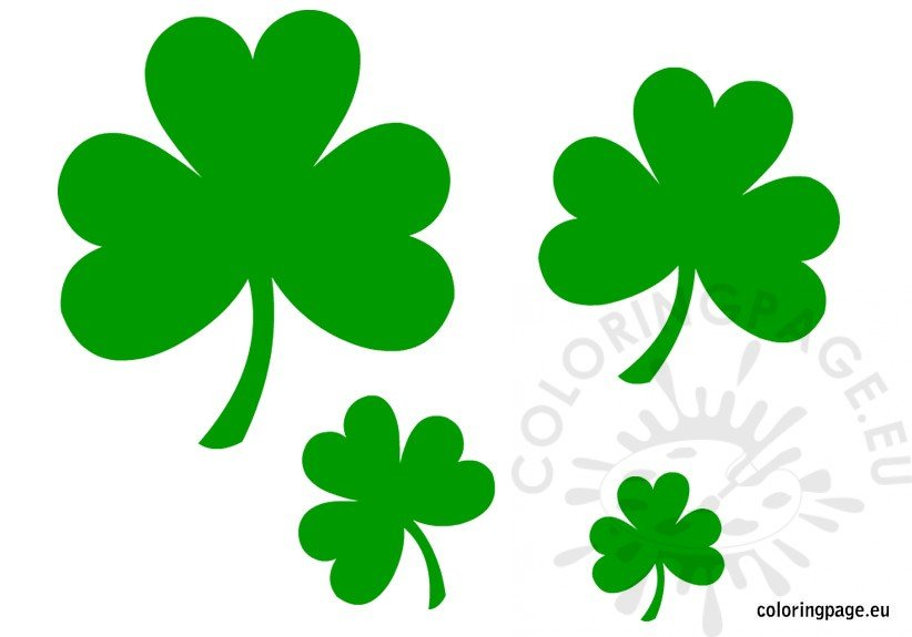 Shamrock And Four Leaf Clover Art And Craft Ideas St Patrick39s