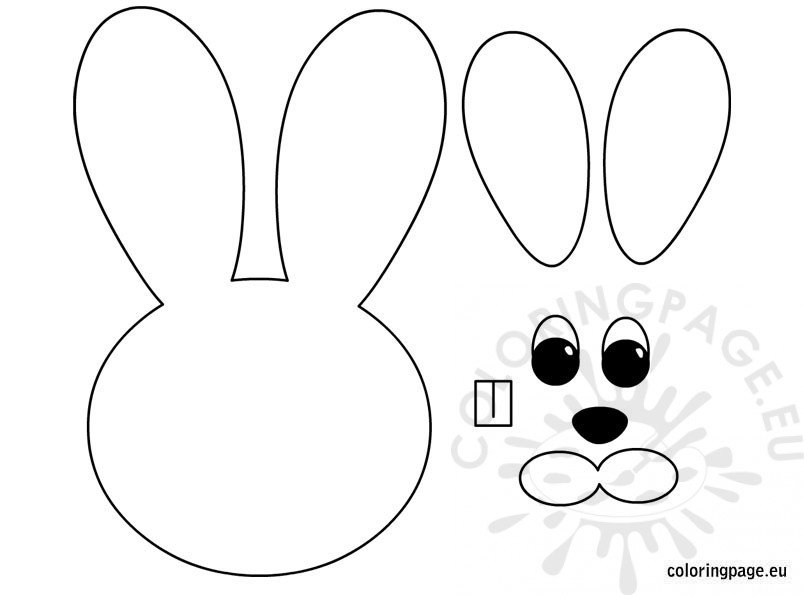 Easter Bunny – Paper craft