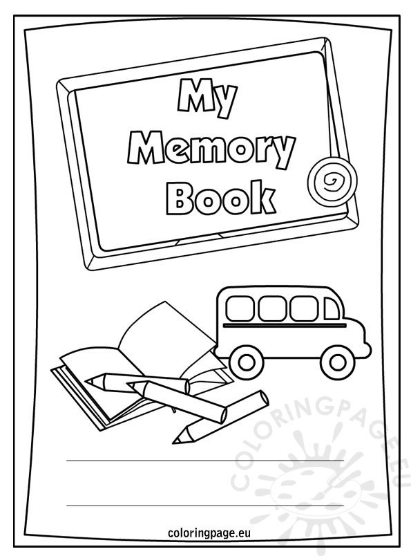 End of the school year – My memory book