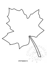 leaf coloring leaves template write autumn printable tree pages draw fall templates names maple stencils drawing thankful students friends place