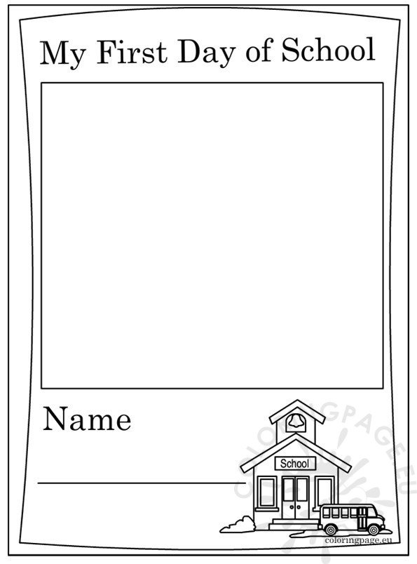 first day of school coloring pages 2nd grade  free