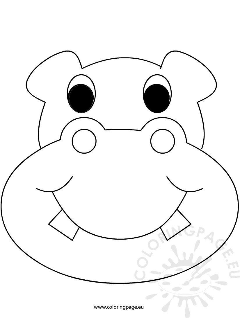 Mask hippo