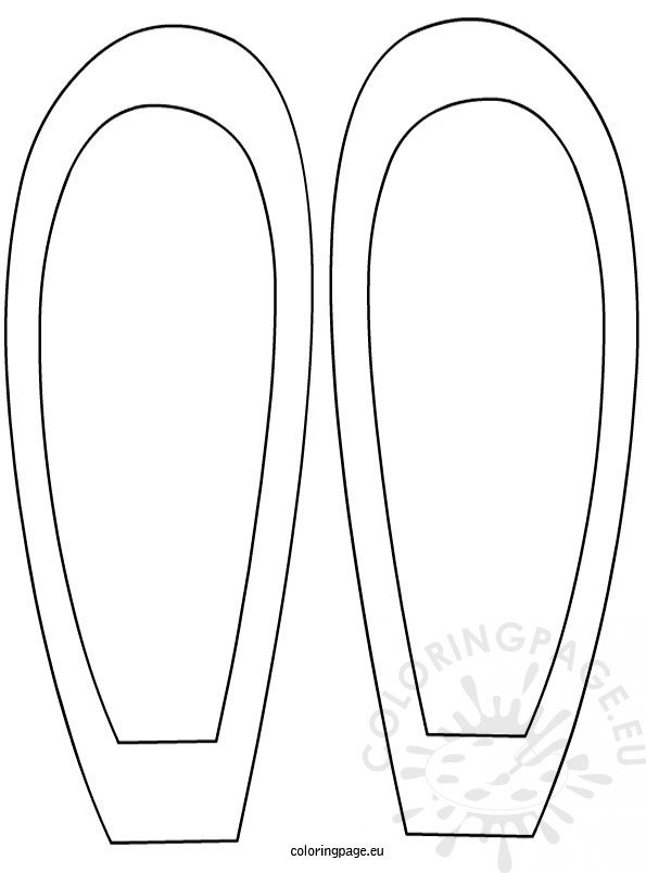 bunny ears Colouring Pages