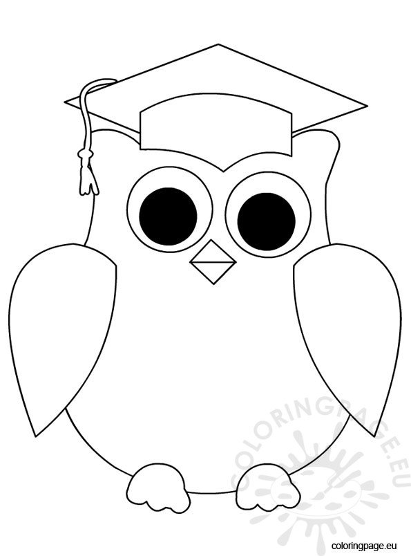 Graduation Cap And Gown Coloring Pages Coloring Pages