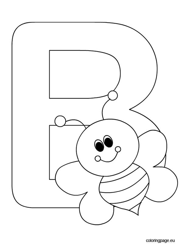 Alphabet – Letter B