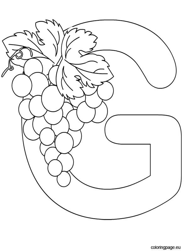 Alphabet – Letter G