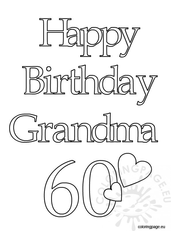 Happy Birthday Grandma 60