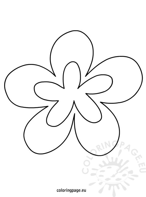 Printable flower shapes