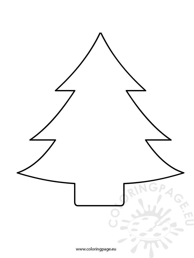 Christmas Tree Cutout