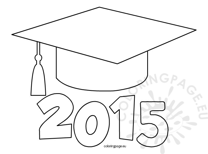 Graduation Gown Coloring Pages Coloring Pages