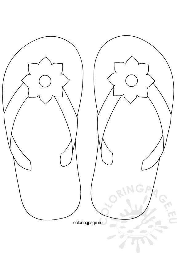 Flower Flip Flop