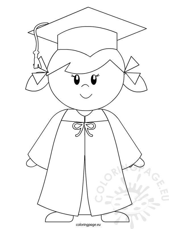 Kindergarten Graduate Girl