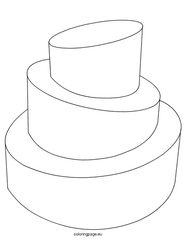 Wedding Cake Template