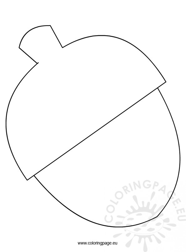 Free Fish Template Coloring Pages