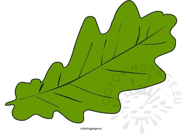 autumn leaf clip art coloring