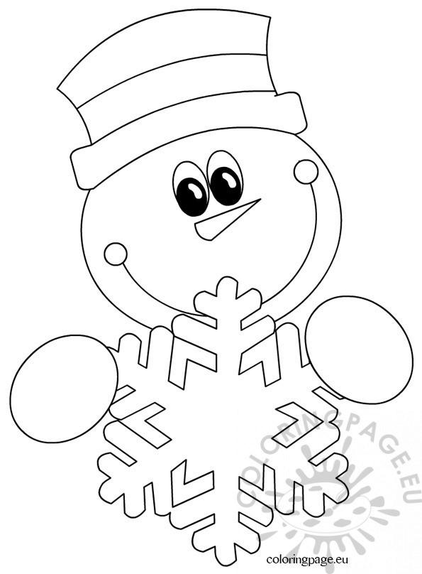 Snowman – Snowflake