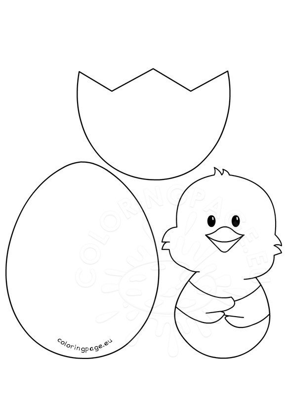 Easter Craft Patterns – Chick and Egg