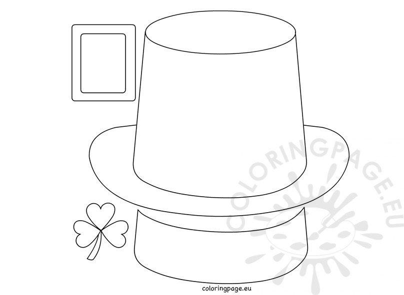 Leprechaun Hat – Paper craft