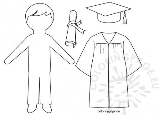 Graduation Scroll Template
