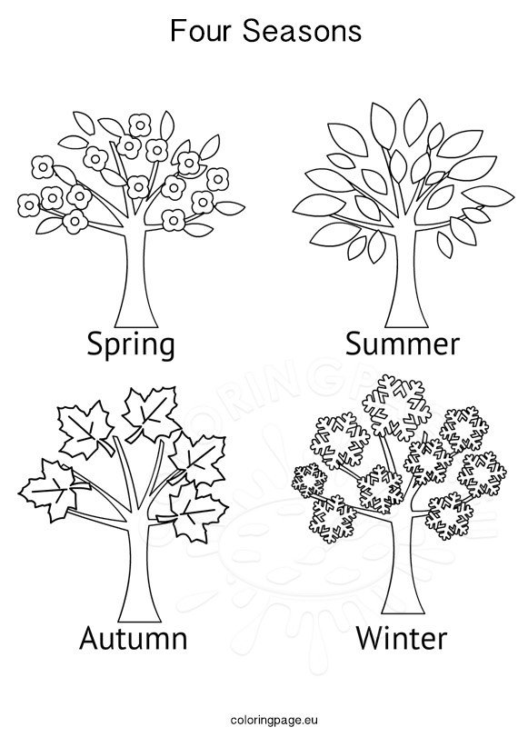 Seasons Activities Four Seasons Tree