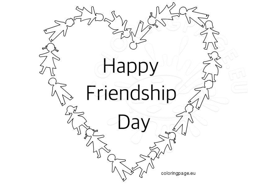 Happy Friendship Day Heart