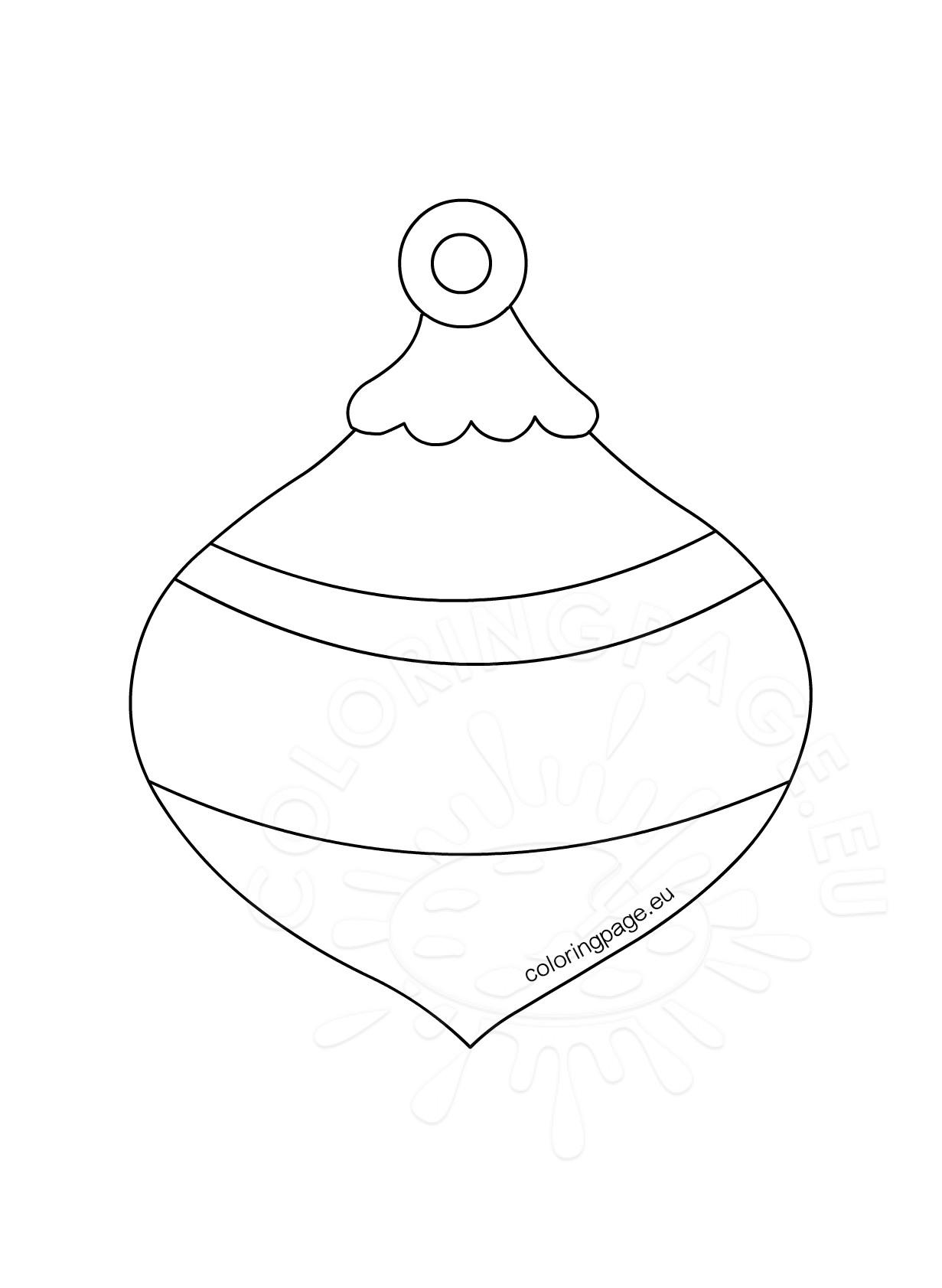 Honeycomb Christmas Ornament template