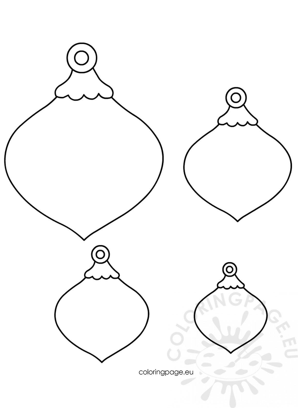 Christmas Felt Ornaments Patterns