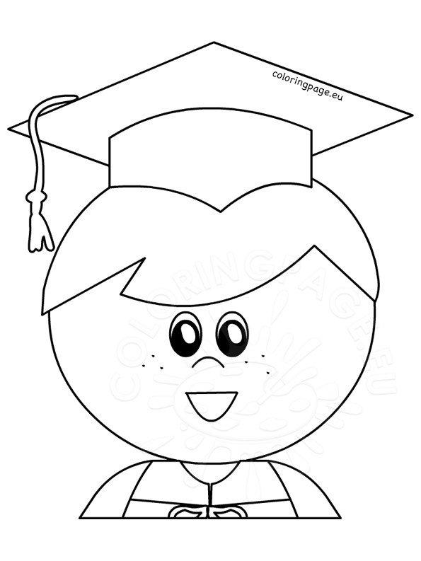Little boy graduate graduation printable